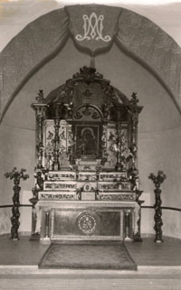 Interior Ermita mediados siglo XX