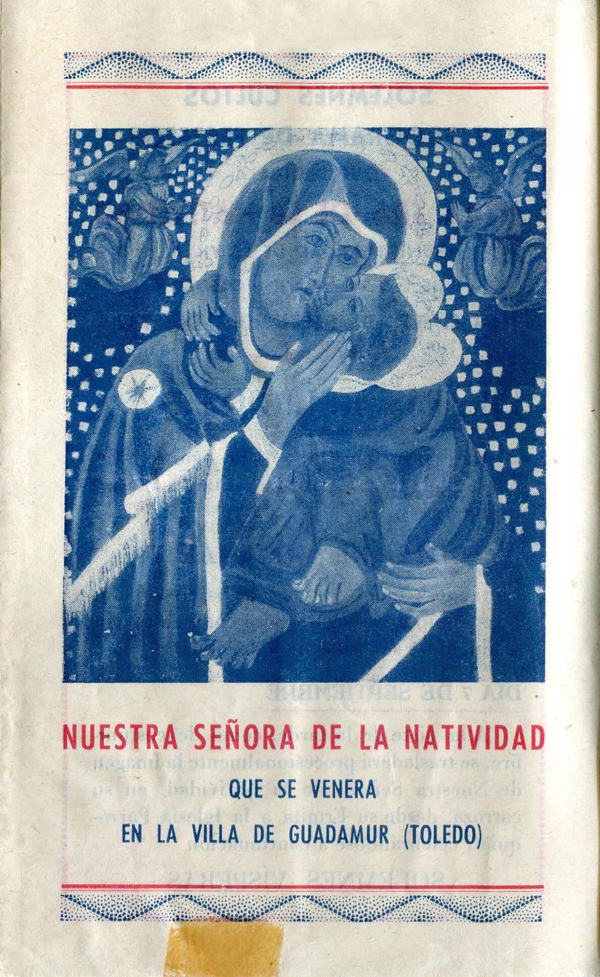 1942 – Programa de fiestas