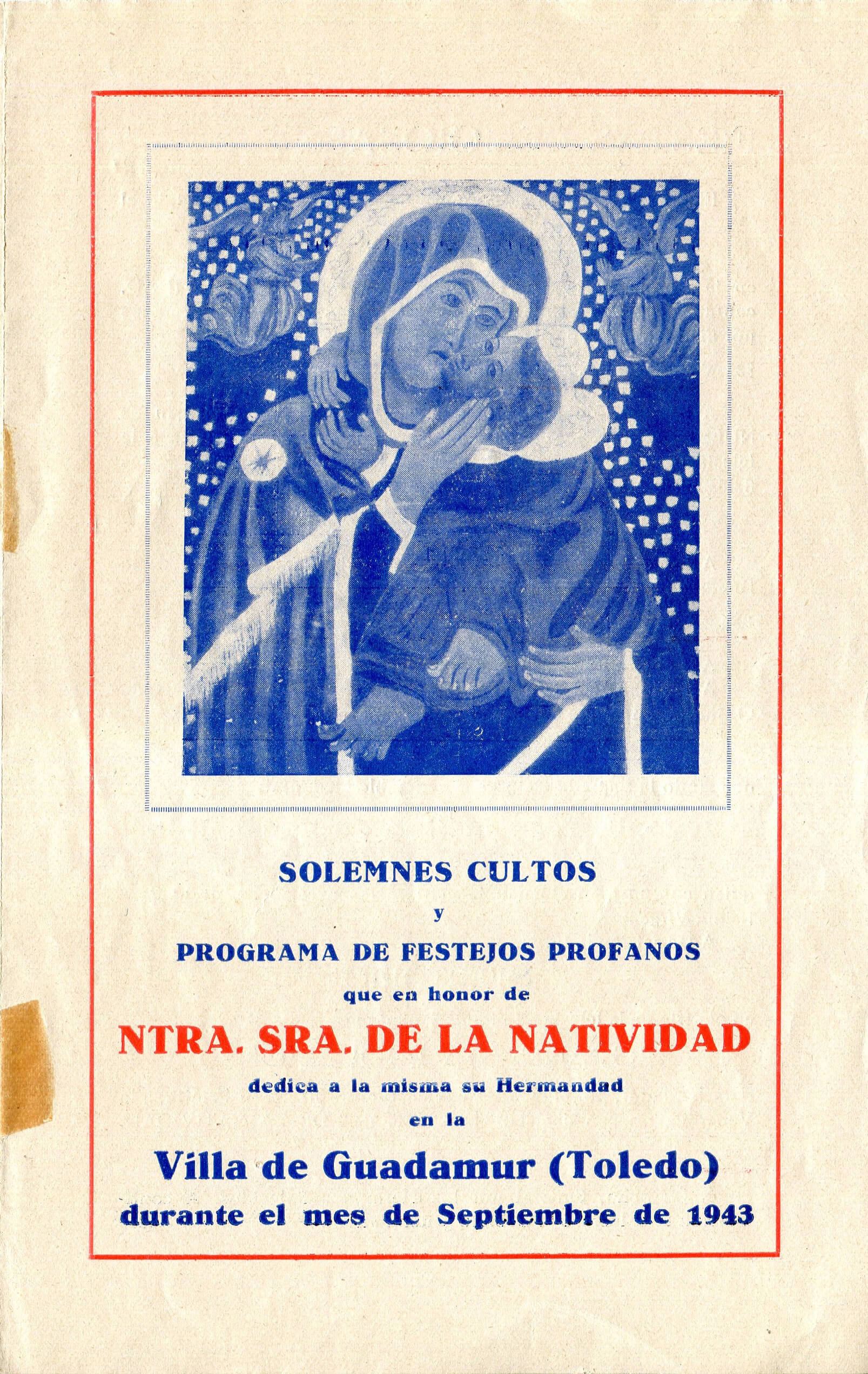 1943 – Programa de fiestas